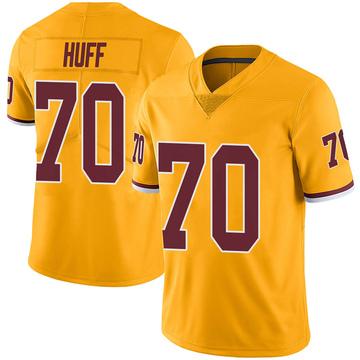 Youth Nike Washington Redskins Sam Huff Gold Color Rush Jersey - Limited