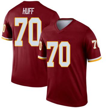 Youth Nike Washington Redskins Sam Huff Inverted Burgundy Jersey - Legend
