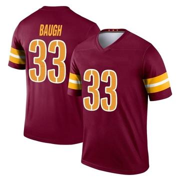 Youth Nike Washington Redskins Sammy Baugh Burgundy Jersey - Legend