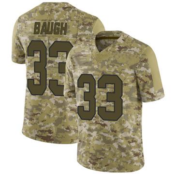 Youth Nike Washington Redskins Sammy Baugh Camo 2018 Salute to Service Jersey - Limited