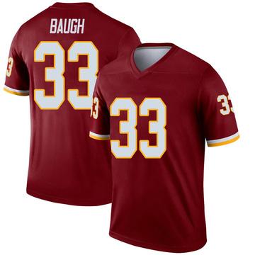 Youth Nike Washington Redskins Sammy Baugh Inverted Burgundy Jersey - Legend