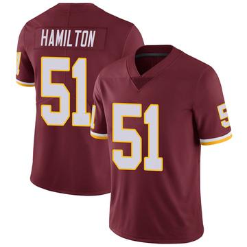 Youth Nike Washington Redskins Shaun Dion Hamilton Burgundy Team Color Vapor Untouchable Jersey - Limited