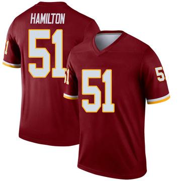 Youth Nike Washington Redskins Shaun Dion Hamilton Inverted Burgundy Jersey - Legend
