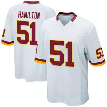 Youth Nike Washington Redskins Shaun Dion Hamilton White Jersey - Game