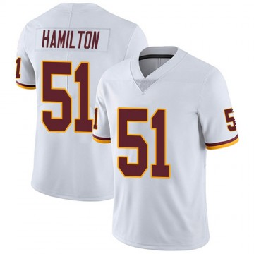 Youth Nike Washington Redskins Shaun Dion Hamilton White Vapor Untouchable Jersey - Limited