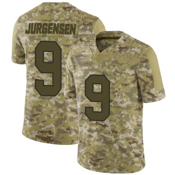 Youth Nike Washington Redskins Sonny Jurgensen Camo 2018 Salute to Service Jersey - Limited