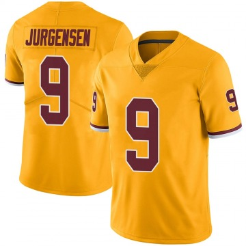 Youth Nike Washington Redskins Sonny Jurgensen Gold Color Rush Jersey - Limited