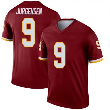 Youth Nike Washington Redskins Sonny Jurgensen Inverted Burgundy Jersey - Legend