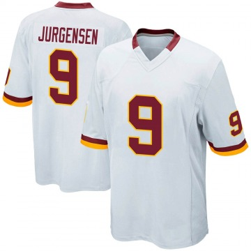 Youth Nike Washington Redskins Sonny Jurgensen White Jersey - Game