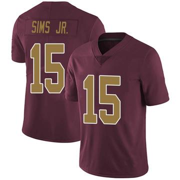 Youth Nike Washington Redskins Steven Sims Jr. Burgundy Alternate Vapor Untouchable Jersey - Limited