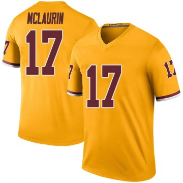 Youth Nike Washington Redskins Terry McLaurin Gold Color Rush Jersey - Legend