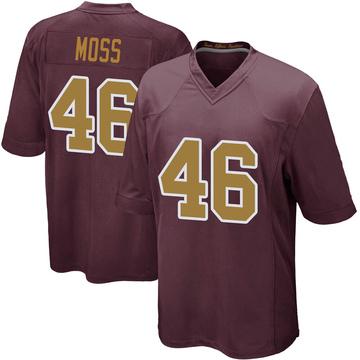 Youth Nike Washington Redskins Thaddeus Moss Burgundy Alternate Jersey - Game
