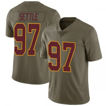 Youth Nike Washington Redskins Tim Settle Green 2017 Salute to Service Jersey - Limited