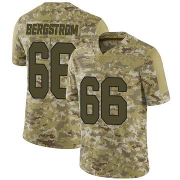 Youth Nike Washington Redskins Tony Bergstrom Camo 2018 Salute to Service Jersey - Limited
