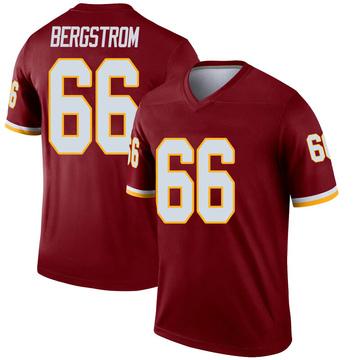 Youth Nike Washington Redskins Tony Bergstrom Inverted Burgundy Jersey - Legend