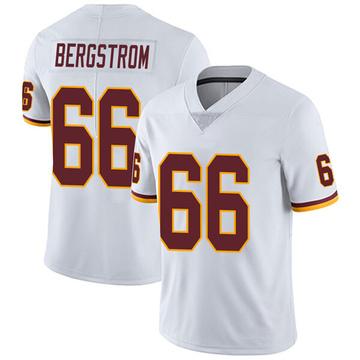 Youth Nike Washington Redskins Tony Bergstrom White Vapor Untouchable Jersey - Limited