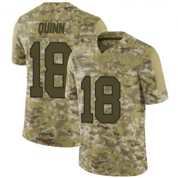 Youth Nike Washington Redskins Trey Quinn Camo 2018 Salute to Service Jersey - Limited