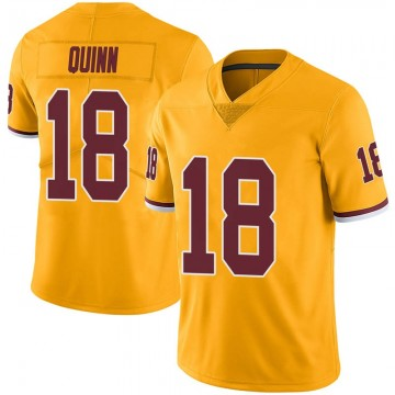 Youth Nike Washington Redskins Trey Quinn Gold Color Rush Jersey - Limited
