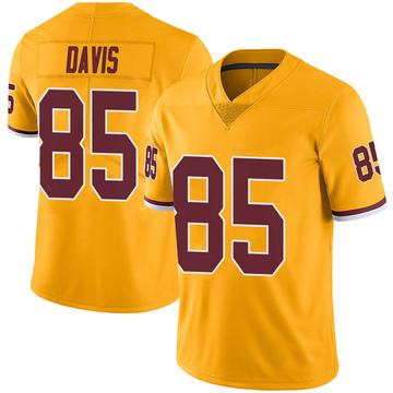 Youth Nike Washington Redskins Vernon Davis Gold Color Rush Jersey - Limited